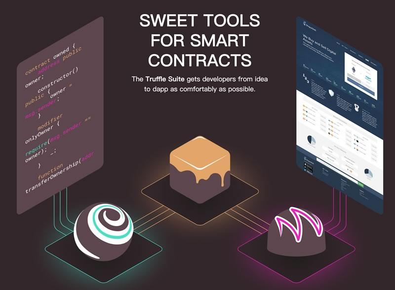 Truffle 以太坊智能合约开发环境 区块链快速开发环境 内置智能合约编译 配置构建管道